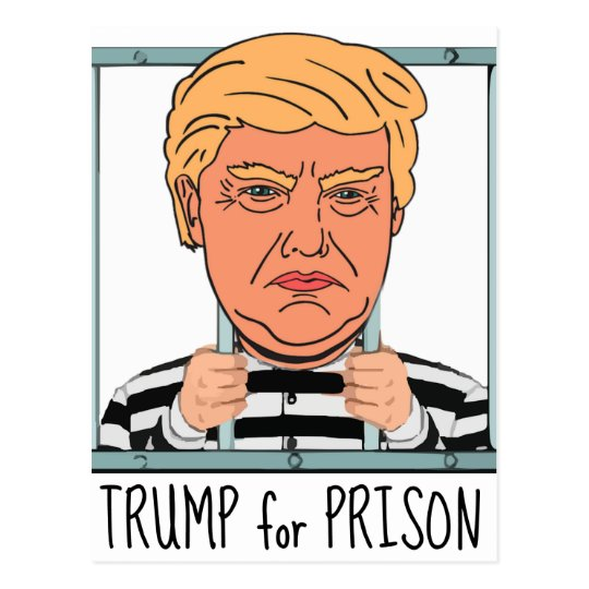 Angry Trump for Prison Postcard