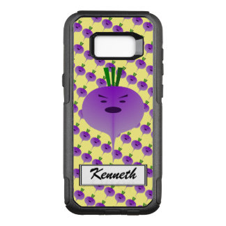 Angry Turnip by Kenneth Yoncich OtterBox Commuter Samsung Galaxy S8+ Case