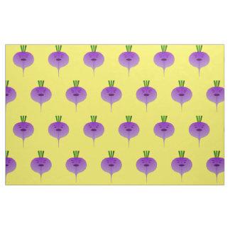 Angry Turnip Fabric