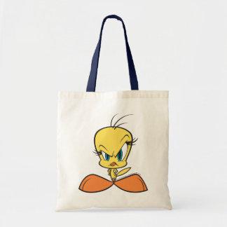 Angry Tweety Tote Bag