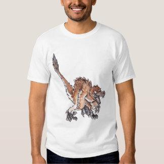 Angry Velociraptor T-shirt