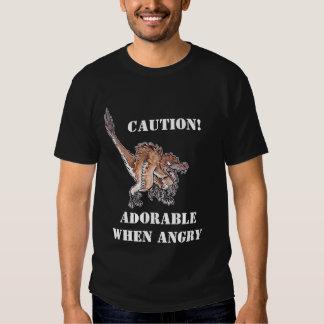 Angry Velociraptor T Shirt