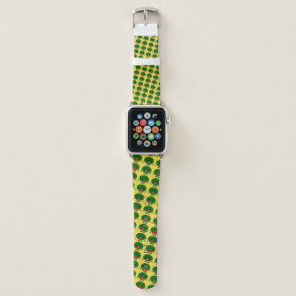 Angry Watermelon by Kenneth Yoncich Apple Watch Band