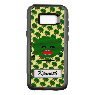 Angry Watermelon by Kenneth Yoncich OtterBox Commuter Samsung Galaxy S8+ Case