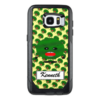 Angry Watermelon by Kenneth Yoncich OtterBox Samsung Galaxy S7 Edge Case