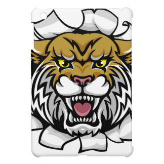 Angry Wildcat Background Breakthrough Cover For The iPad Mini