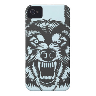Angry wolf Case-Mate iPhone 4 case
