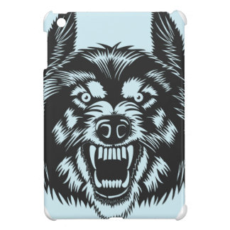 Angry wolf iPad mini cases