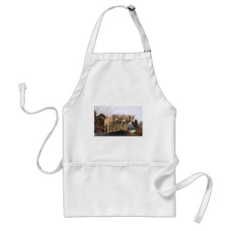 Angry Wolf Pack Standard Apron