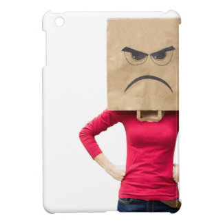 Angry woman iPad mini case