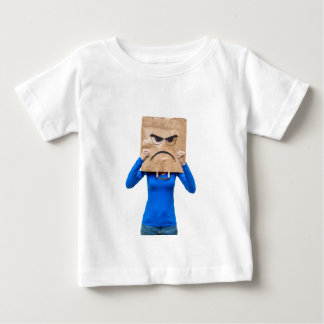 Angry woman showing fists baby T-Shirt