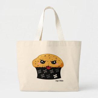 Angst Muffin Jumbo Tote Bag