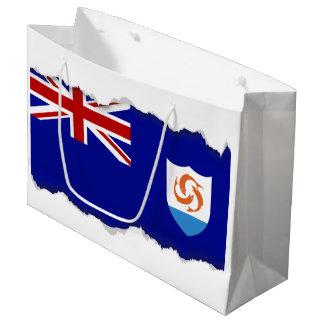 Anguila Flag Large Gift Bag