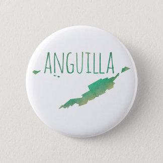 Anguilla 6 Cm Round Badge