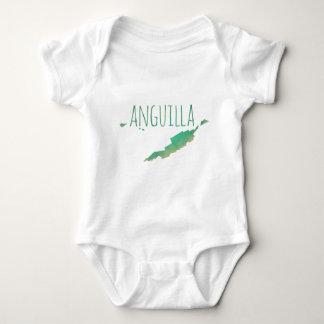 Anguilla Baby Bodysuit
