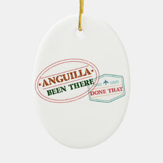 Anguilla Been There Done That Ceramic Ornament