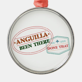 Anguilla Been There Done That Metal Ornament
