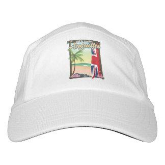 Anguilla British Territory travel poster Hat