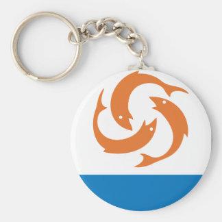 Anguilla Coat Of Arms Key Ring