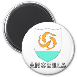 Anguilla Coat of Arms Magnet