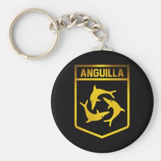 Anguilla Emblem Key Ring