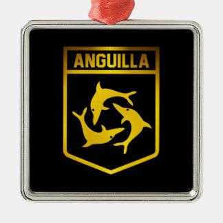 Anguilla Emblem Metal Ornament