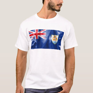 Anguilla Flag Men's T-Shirt