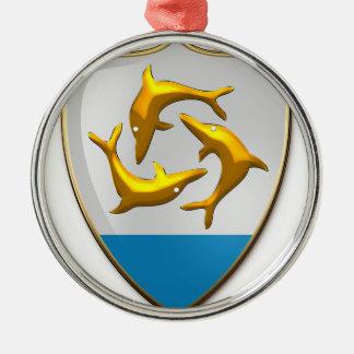 Anguilla Metal Ornament