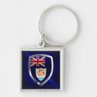 Anguilla Mettalic Emblem Key Ring