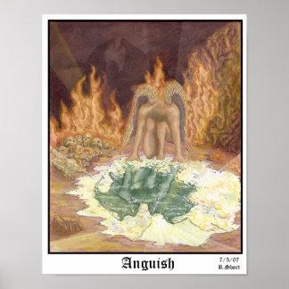 Anguish Print