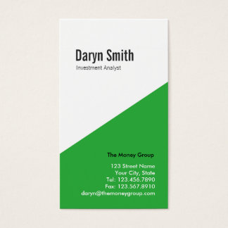 Angular Multi-purpose Biz Card (green)