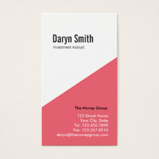 Angular Multi-purpose Biz Card (pink)