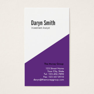 Angular Multi-purpose Biz Card (purple)