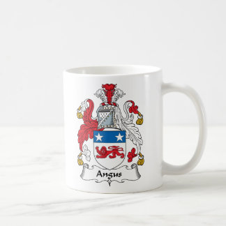 Angus Family Crest Coffee Mug