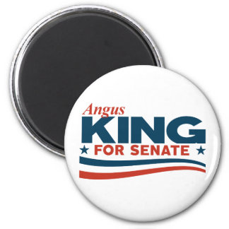 Angus King for Senate Magnet