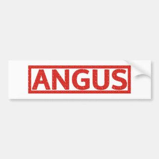 Angus Stamp Bumper Sticker