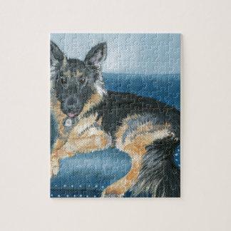 Angus the German Shepherd Jigsaw Puzzle