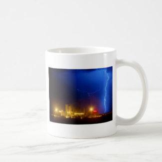 Anheuser-Busch Budweiser Brewery Lightning thunder Coffee Mug