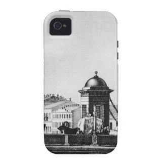Anichkov bridge in St. Petersburg Case-Mate iPhone 4 Cases