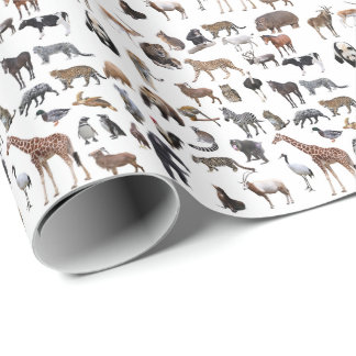 Animal 3 wrapping paper