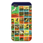 Animal abc alphabet Chart  teachers and learners iPhone 4/4S Case