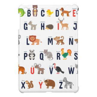 Animal ABCs - Alphabet iPad Mini Case