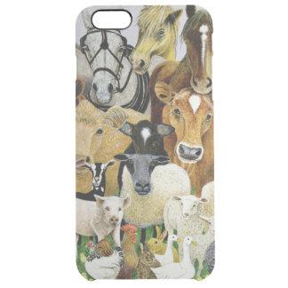 Animal Allsorts Clear iPhone 6 Plus Case