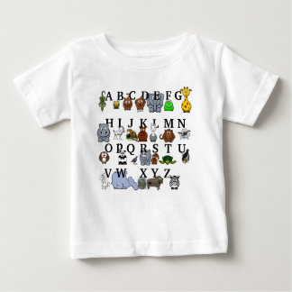 Animal Alphabet Baby T-Shirt