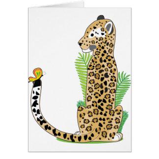 Animal Alphabet Jaguar Card