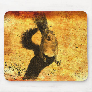 Animal Art - Squirrel Mouse Pad