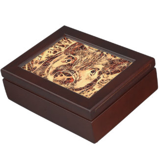 Animal ArtsStudio- amazing piglet Keepsake Box