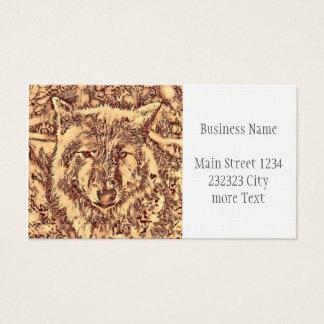 Animal ArtsStudio- amazing wolf Business Card