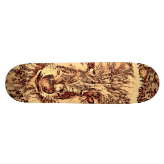 Animal ArtsStudio- amazing wolf Skateboard Decks