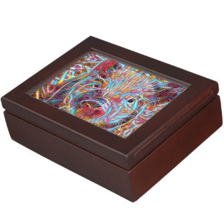 Animal ArtStudio- funky piglet Keepsake Box